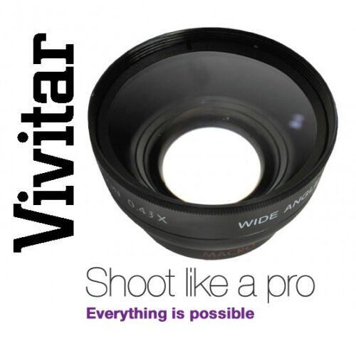 Wide Angle With Macro Lens Vivitar HD4 Optics For Nikon D3100 D3200