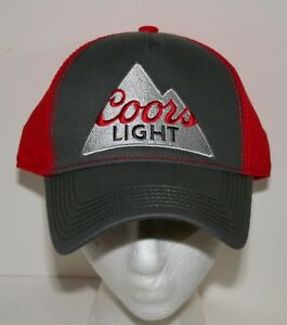 cd3682cbb48a0 Image is loading Modern-Coors-Light-Mountain-Baseball-Cap-Hat-New-
