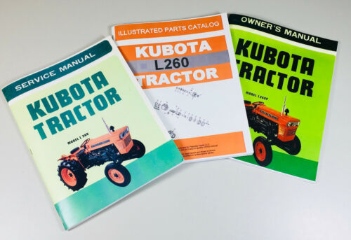 Heavy Equipment, Parts & Attachments KUBOTA L260 TRACTOR SERVICE ...