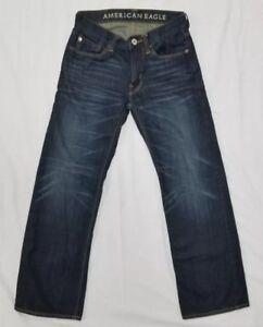 Aeo X tout en Eagle basse Jeans droit taille détresse 26 American 28 YTSwqxEa