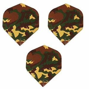 Designa Camouflage Camo Military 100 Micron Extra Strong Dart Flights 3 Sets