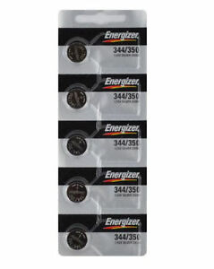 5-NEW-Energizer-344-350-SR1136SW-Silver-Oxide-Watch-Batteries-1-55V