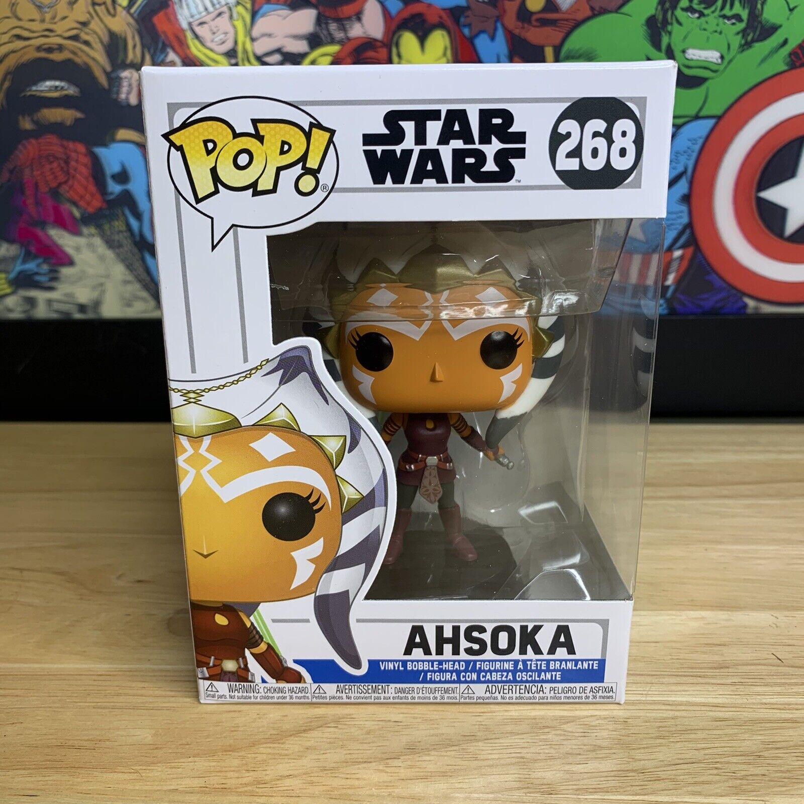268-Pre Order Star Wars-Clone Wars-AHSOKA FUNKO POP!