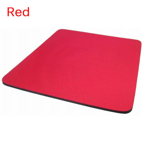 Fabric Mouse Mat Pad Blank Mouse Pad 5mm Thick Non Slip Foam 25cm x 21cm