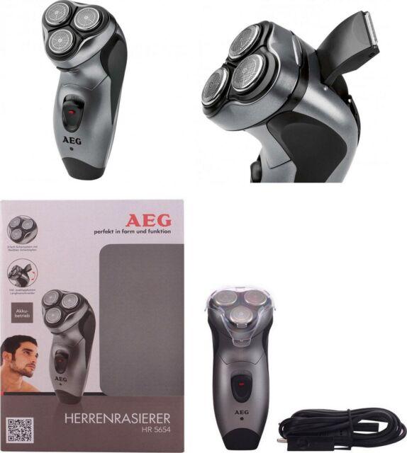 Afeitadora electrica inalámbrica o cable, cabezal afeiteado triple, uso en ducha