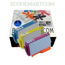 3 pks colors 564XL Ink Cartridge for HPs B8550 C6340 C6350 C6380 D5445 D5460 WCH