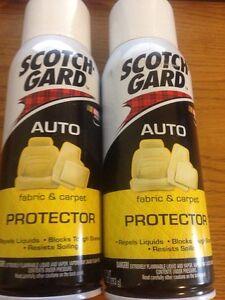 2 Cans 3m 4104d Scotch Gard Scotch Gard Auto Car Truck Fabric Carpet Protector Ebay