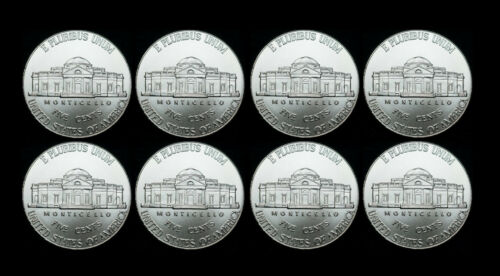 2010 2011 2012 2013 P+D+S Jefferson Nickel Mint Proof Set /& PD from Bank Rolls