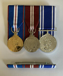 POLICE LS/&GC AND QUEENS GOLDEN JUBILEE 2002 MEDAL FULL SIZE