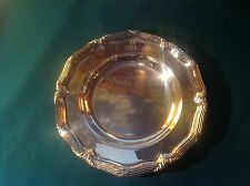 Elkington Soup Plate From the Silver Service of a British Baron 1893