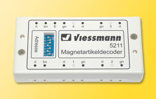 Viessmann 5211 Motorola-magnétique article décodeur #neu en OVP #