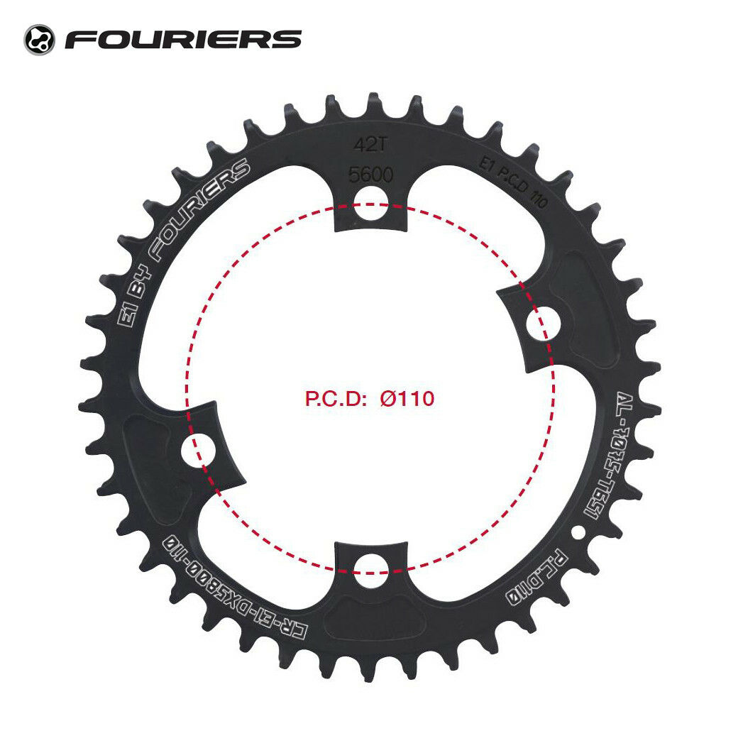 Fouriers Single Chainring Road Bike Chainwheel BCD  110 Fit Shimano 105 5800 11S  factory outlet online discount sale