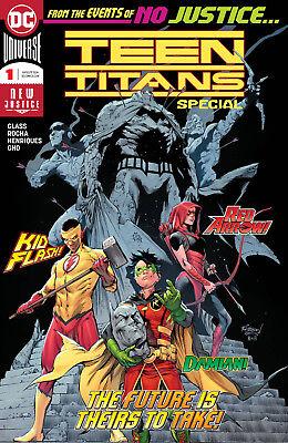 9.6 NM+ Lobo/'s Daughter Teen Titans Special #1 DC 2018 One Shot 1st app Crush
