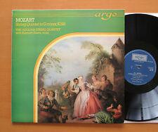 ZK 35 Mozart String Quartet K516 The Aeolian String Quartet 1978 Argo Holland NM