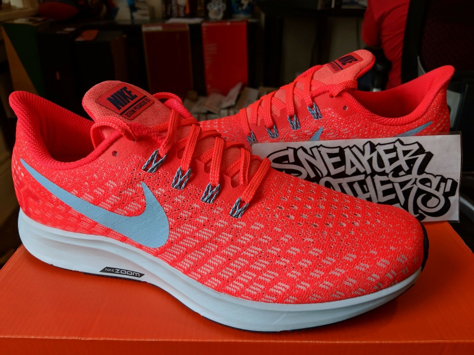 Nike Nike Nike Air Zoom Pegasus 35 Bright Crimson Ice bluee Sail Running 942851-600 17bacd