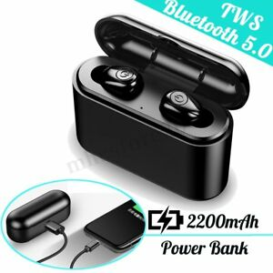 f80dff90572 bluetooth 5.0 Headset TWS Wireless Earphones Mini Earbuds Stereo ...