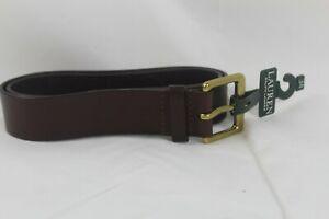 Lauren-Ralph-Lauren-Mens-Casual-Faux-Leather-Dress-Belt-Brown-Size-34-45