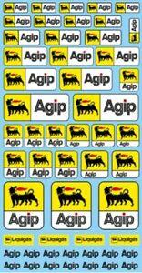 Agip-Sponsor-Sticket-PP04-200-X-110-mm-1-18-Autocollant-Decalcomanie