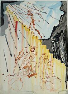 Dali Salvador: Paradise 21 - Holz Graviert Original #1960-1963 ,La Divine