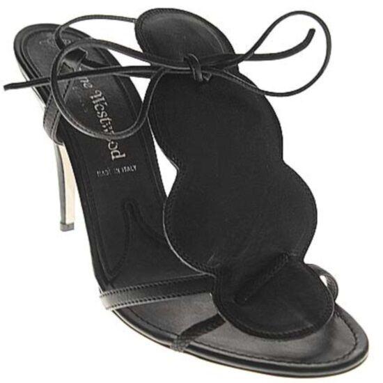 Vivienne Westwood sandalo fiore b nero, b nero flower sandal sandal sandal 8f2d47