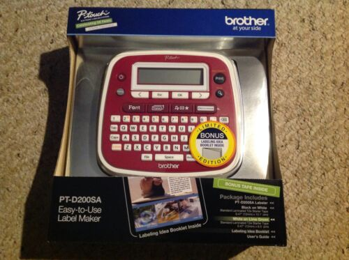 PT-D200SA, NIB P-Touch Electronic Labeling System