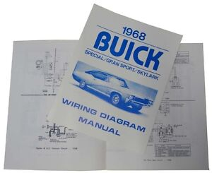 details about 1968 buick wiring diagram manual skylark special gs 1969 Jeepster Wiring-Diagram