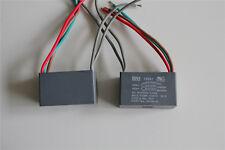 2pcs 250v 300v Ac Cbb61 5uf5uf5uf Ceiling Fan Capacitor 5 Wire