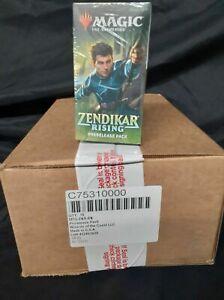 Magic-The-Gathering-Zendikar-Rising-Case-of-18-Prerelease-Kits-SEALED-NEW-MTG