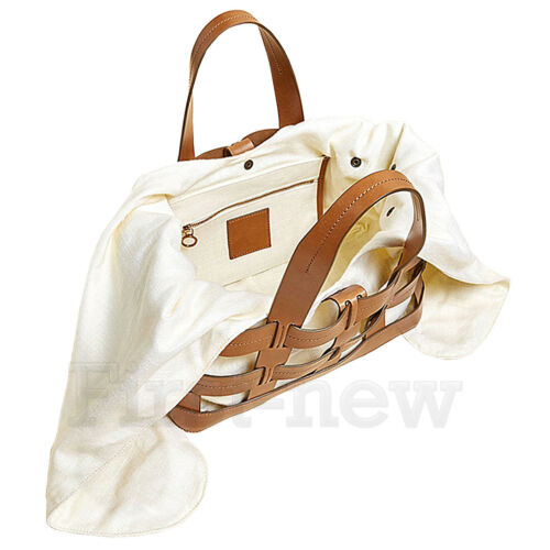Womens Faux Leather Tie Knots Bucket Bag Large Handbag Shoulder Bag Weave Totes