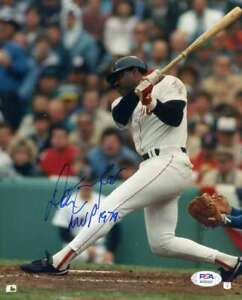 Don Baylor PSA DNA Coa Hand Signed 8x10 Red Sox Photo Autograph