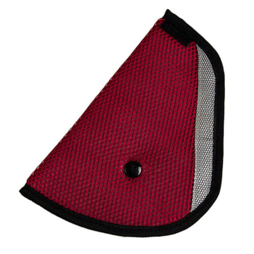 For Baby Kids Car Safety Cover Strap Adjuster Pad Harness Seat Belt Clip