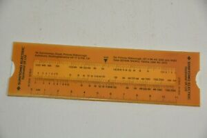 Technical calculator for drilling metal and other hard materials slide rule type