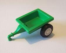 PLAYMOBIL (T4104) FERME & EQUESTRE - Remorque Verte pour Tracteur Enfant Ranch