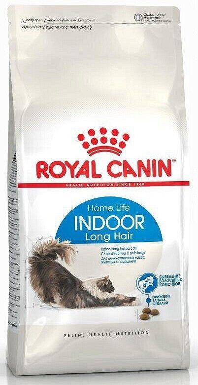 10kg ROYAL CANIN INDOOR long hair Lang capelli cibo per gatti bravam 3182550739429