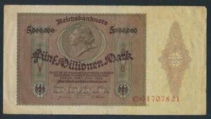 German-Empire-Rosenbg-88-used-III-1923-5-Million-Mark-8981258
