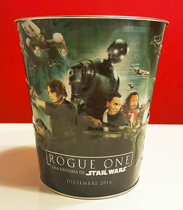 star wars rogue one movie popcorn tin from peru with spanish type 3 rare ebay details about star wars rogue one movie popcorn tin from peru with spanish type 3 rare