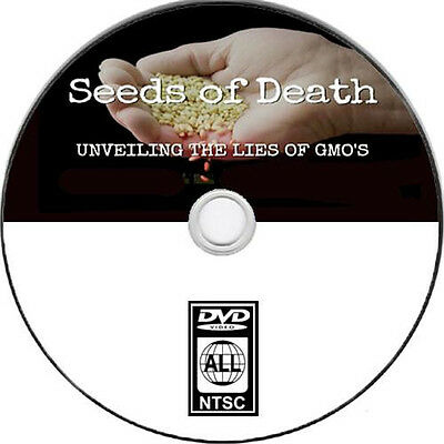 3 DIFFERENT DVD'S SEEDS OF DEATH / KING CORN / MONSANTO/ READ LISTING NEW DVD'S