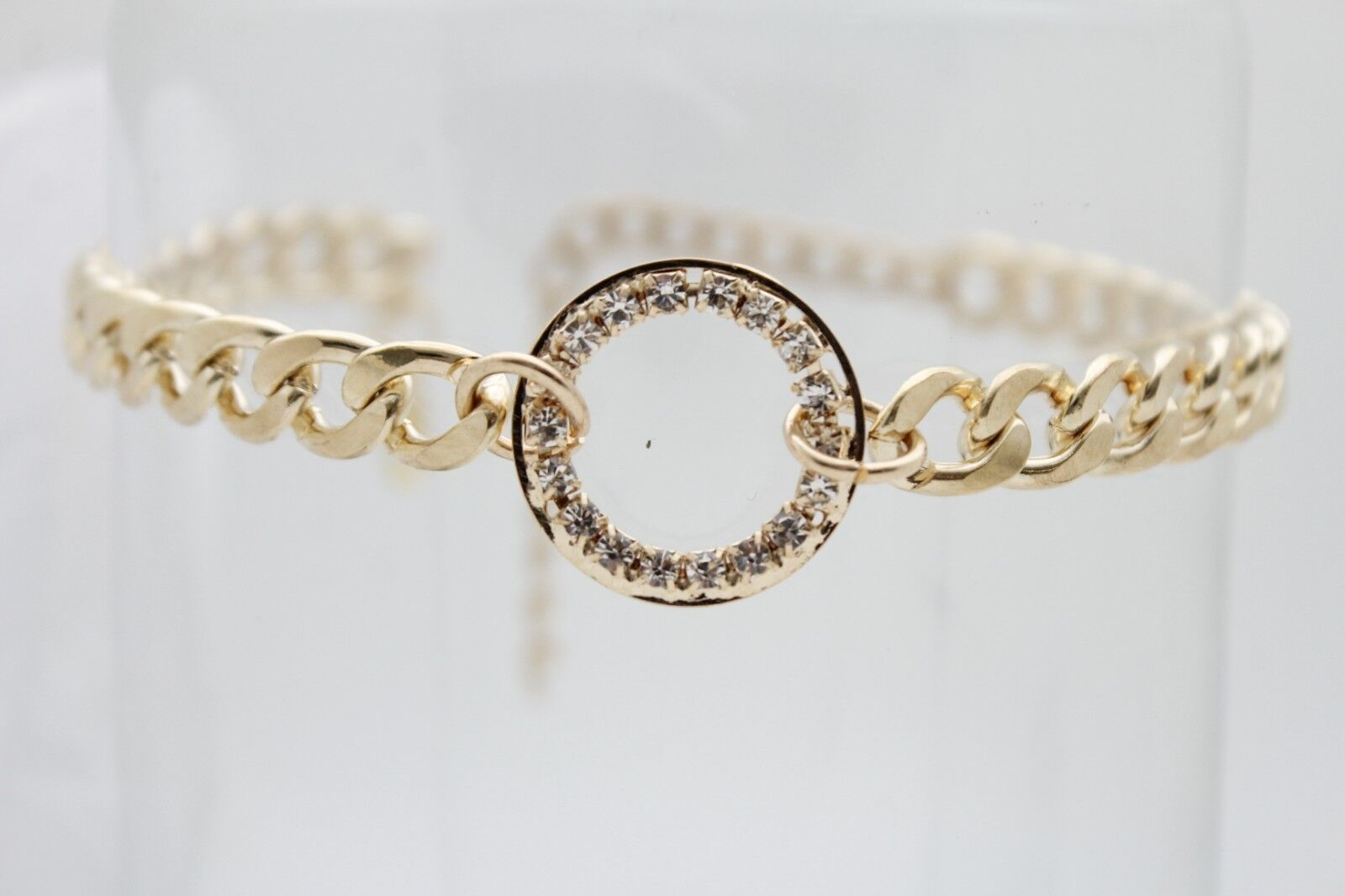 Classy Women Gold Metal Chain Boot Bracelet Anklet Shoe Bling Ring Charm Jewelry