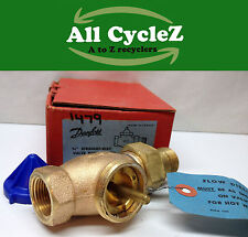 Danfoss 3/4 Straight Way Valve-Hot water for type RA Thermostatic Radiator Valve