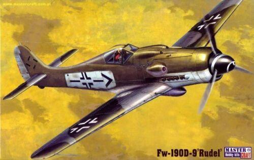 FOCKE WULF FW 190 D-9 /'RUDEL/' 1//72 MISTERCRAFT