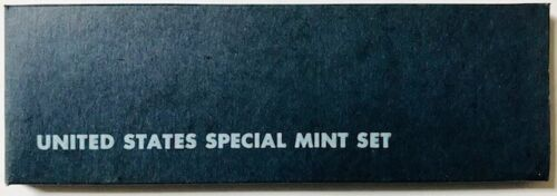 1966 with Silver Kennedy Half Dollar SMS Special Mint Set OGP USA