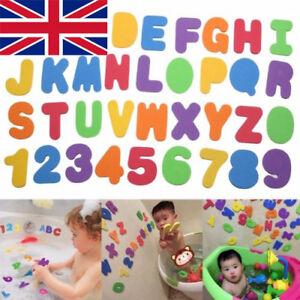Schiuma-per-bambini-numero-24-lettera-Baby-Bambino-Vasca-da-Bagno-Galleggiante-Precoce-Educazione