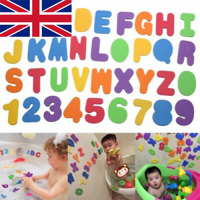 Children Foam Number 24Letter Baby Bath Toddler tub Floating Early Education Toy