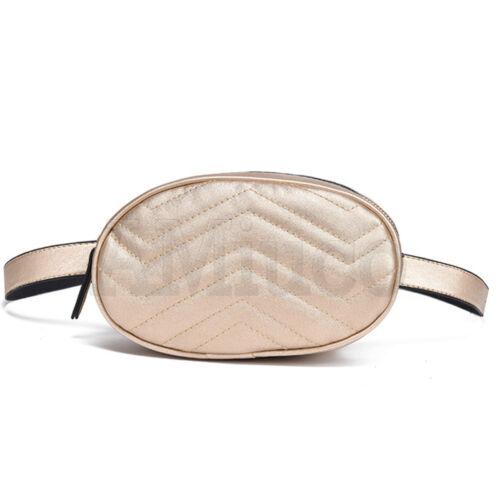 Womens Zipper Wallet Sports Bag Waist Fanny Pack Belt Waist Bag Beach Travel Bag