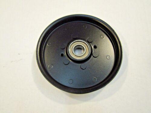 FLAT IDLER PULLEY FOR JOHN DEERE LT133 LT150 LT155 LT160 LT166 LT180 LT190 LX172