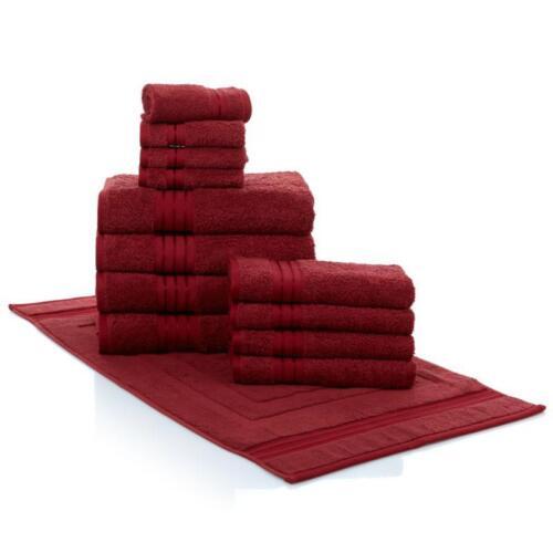 HSN Concierge Collection 100/% Turkish Cotton 13-piece Soft Towel Set