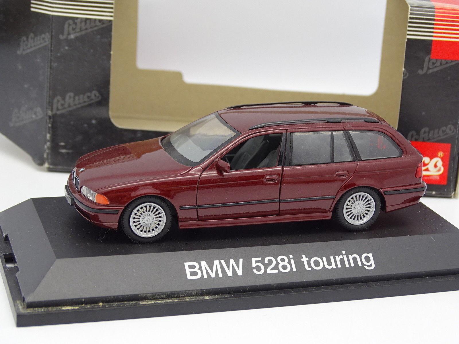 Schuco 1 43 - BMW 528 I E39 Touring Rouge Metal