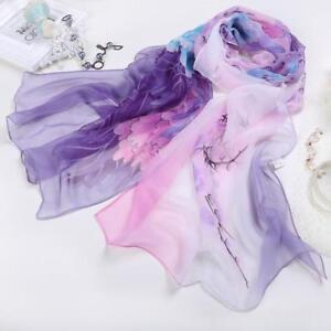 Fashion-Long-Wrap-Lady-Women-039-s-Shawl-Soft-Chiffon-Scarf-Scarves-Stole-Scarves