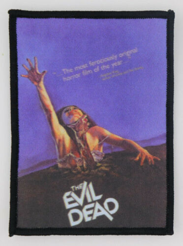 PATCH - The Evil Dead - Color HORROR movie - Ash, Bruce Campbell, Necronomicon