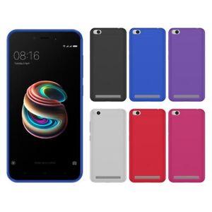 Funda-gel-lisa-Xiaomi-REDMI-5A-protector-cristal-opcional